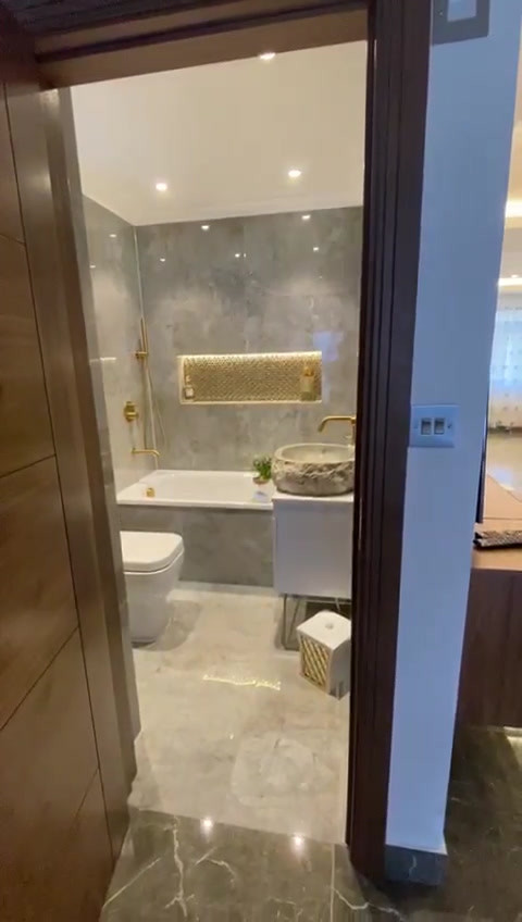 Finished New Bathroom (Video)