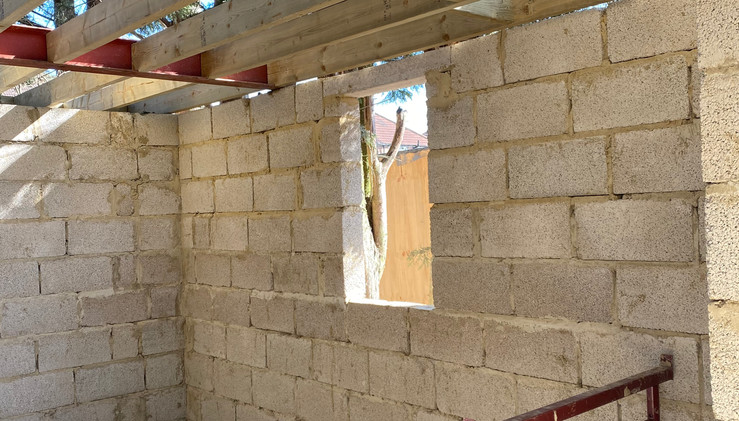 Construction of Flat Roof & Support