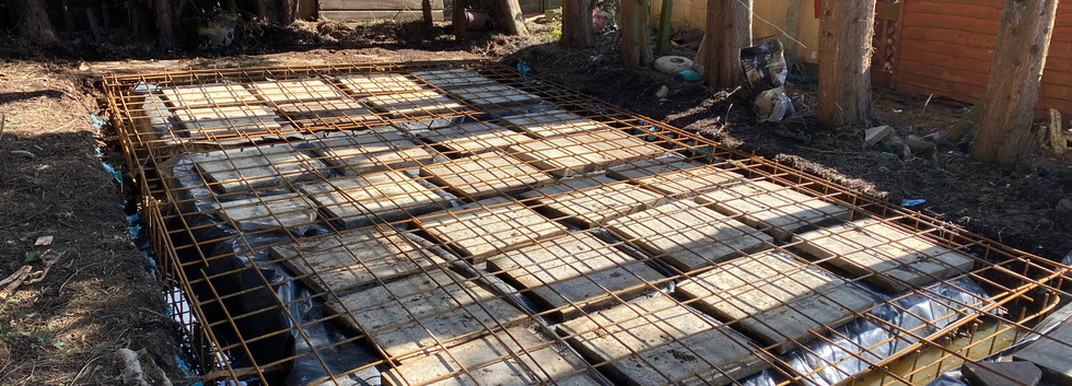 Installation of Rafter Foundations