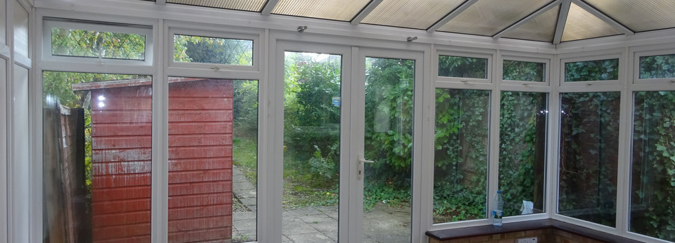 Existing Conservatory (Inside)