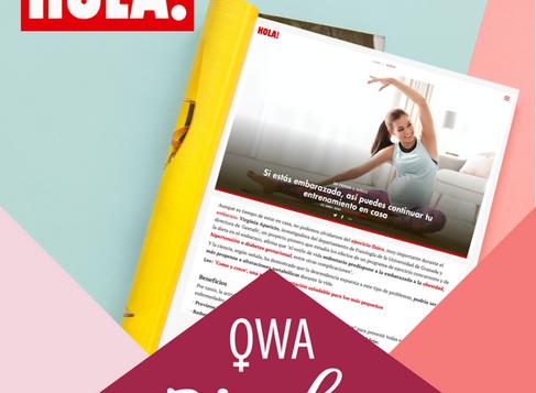 OWA llega hasta la revista HOLA!