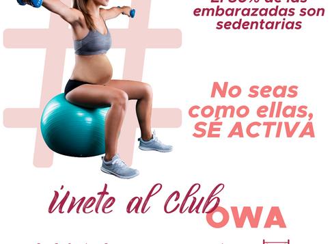 CLUB OWA, el club de las mamás que entrenan