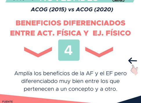 BENEFICIOS DIFERENCIADOS ENTRE EJERCICIO Y ACTIVIDAD FÍSICA DURANTE EL EMBARAZO