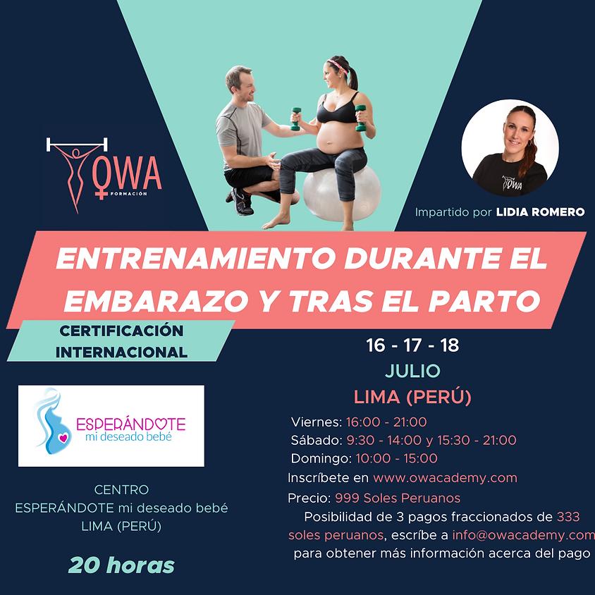 Certificación Internacional Lima (PERÚ)