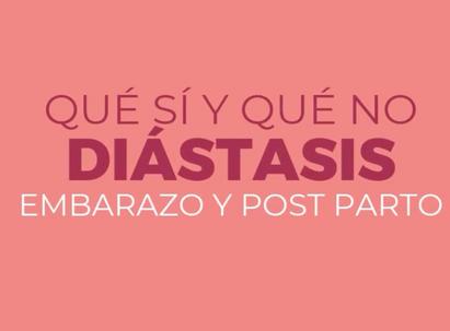 DIÁSTASIS EN EL EMBARAZO Y EL POST PARTO