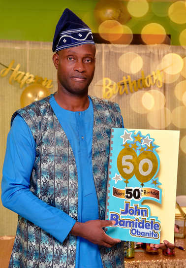 50TH Birthday Celeb