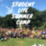 Summer Camp 2020 Graphic for Social Medi