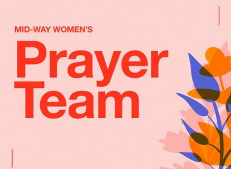 Women's Prayer Team - Week 21