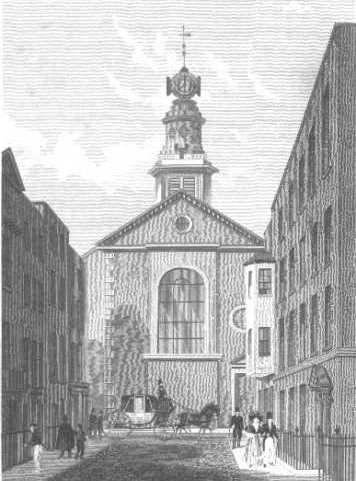 Steel Engraving by TH Shepherd (1793-1864)