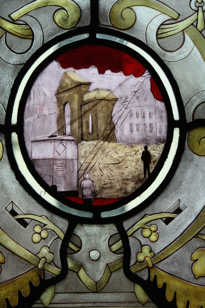 Detail from the Allen Room Windows
