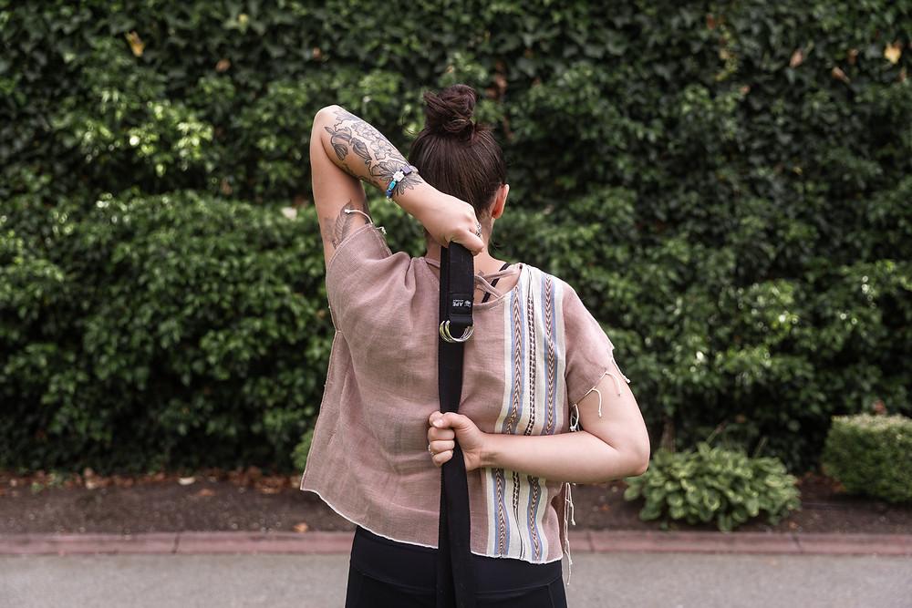 Yoga Strap and Farm to Thread