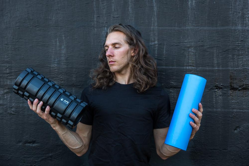 ape movement 2-in-1 foam roller
