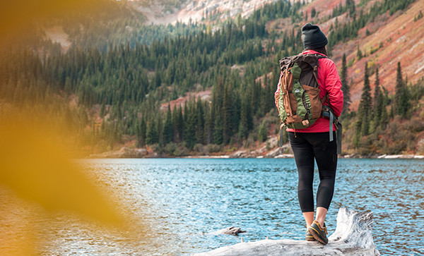 why you should hike barefoot