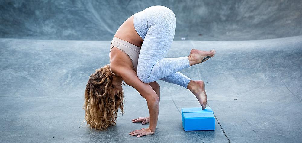Yoga Blocks for Crow Pose