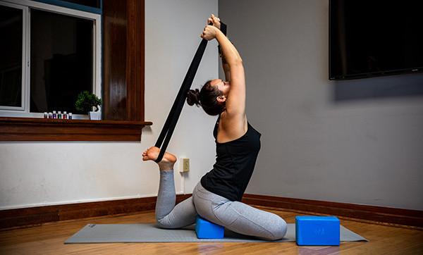 Yoga Strap and Belt Set