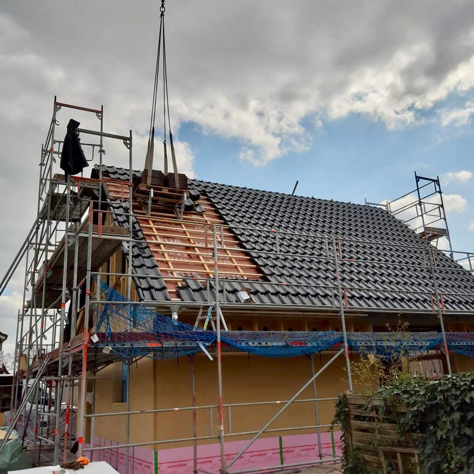 Neubau eines Einfamilienhauses in Holzrahmenbauweise