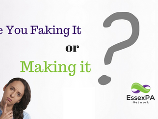 Are You Faking It or Making It?