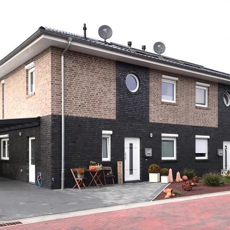 Neubau eines Doppelhauses in Holzrahmenbauweise