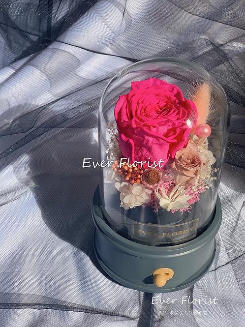 Ecuadorian Rose Music Box