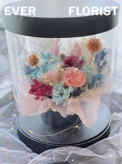 母親節永生花花盒B
