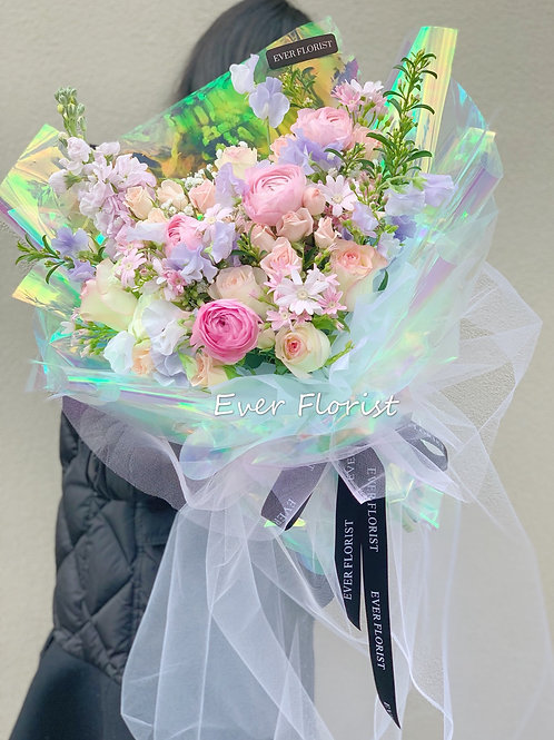 Mixed Bouquet-Pink