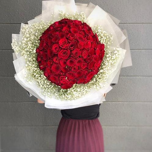 99 roses-Forever  Love