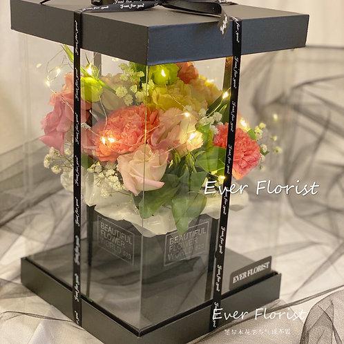母親節鮮花花盒