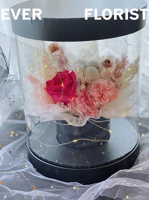 母親節永生花花盒C