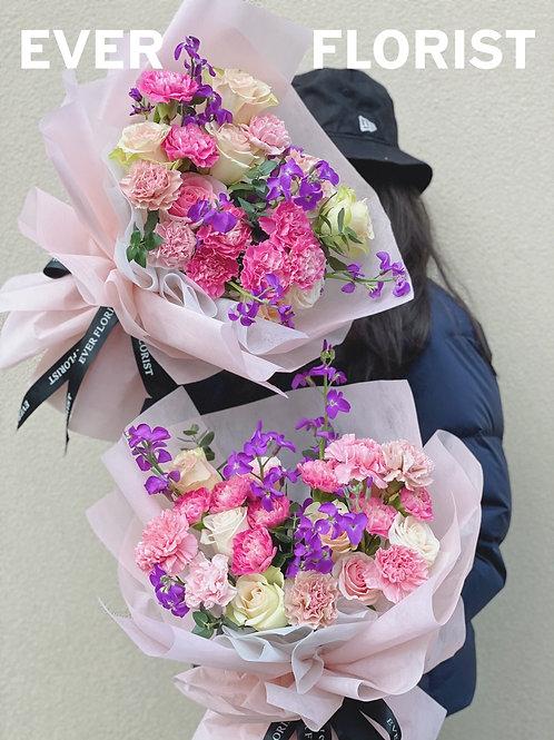母親節鮮花花束E
