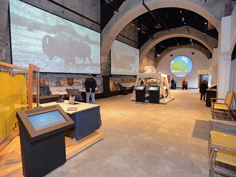 👉 AV Installation Project - Cave & Basin Visitors Centre, Banff, Alberta, Canada