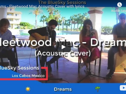 🎵 The BlueSky Sessions - An acoustic cover of Fleetwood Mac - Dreams