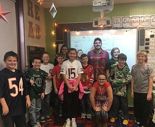 Classroom Visitor - Jack Malone