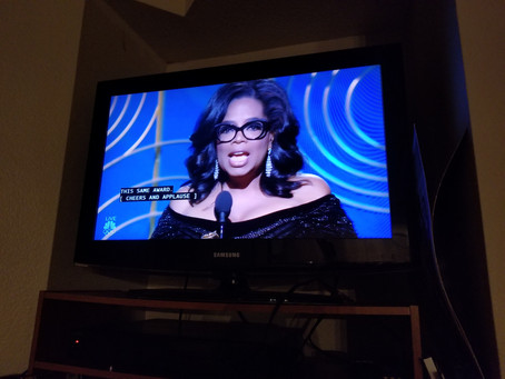 Oprah's Golden Globes was the best (stump?) speech I've heard in awhile