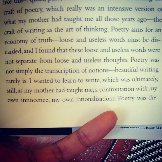 """The craft of writing as the art of thinking.jpg"" Ta-Nehisi Coates describes my own secret garden"