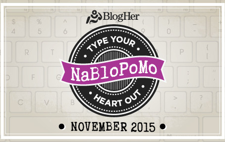 NaNo, NaBlo, NaWHOA. I said it. November is Writing Mo.nth.