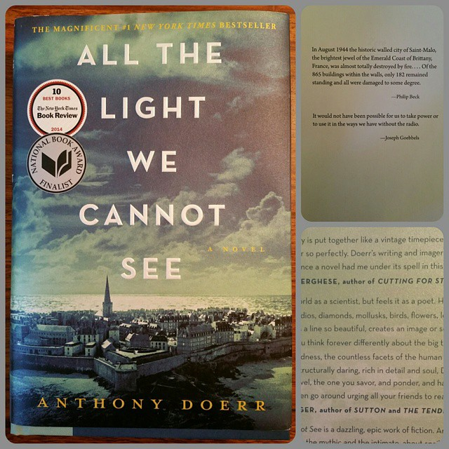 Instagram - New on the #shelfie: #All the Light We Cannot See by #AnthonyDoerr.