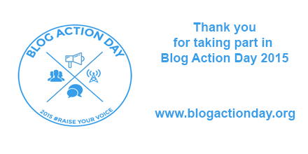 Blog Action Day: Writers standing up for writers, now more than ever #raiseyourvoice