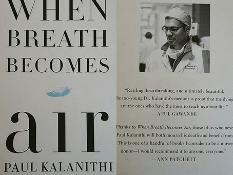 Book review and revelation: When Breath Becomes Air