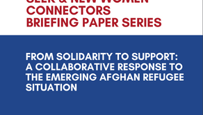 From Solidarity to Support A Collaborative Response to the Emerging Afghan Refugee Situation.