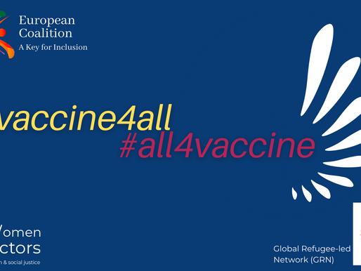 Vaccine4All, All4Vaccine Campaign
