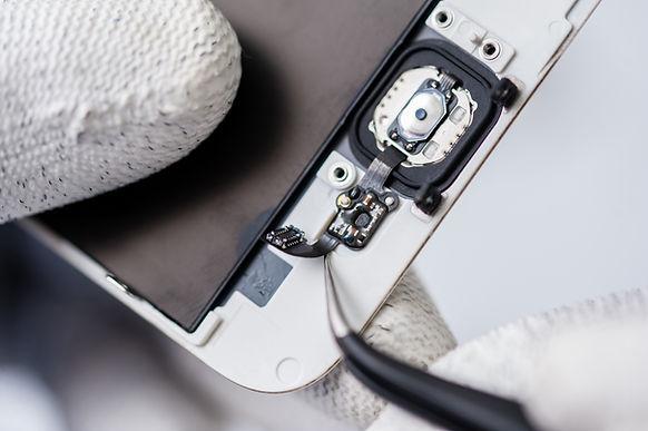 Proceso de reparación móvil