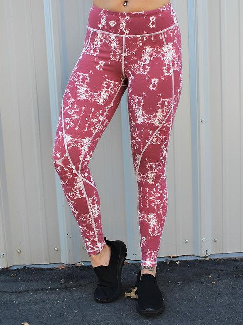 Rosewood Tie-Dye Full Leggings
