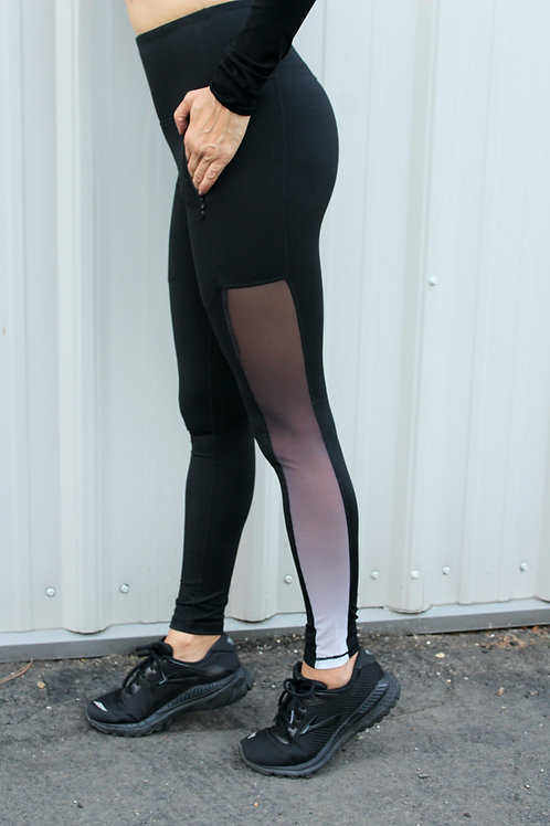 Ombre Mesh Leggings