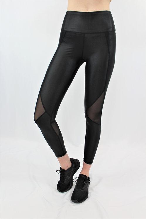 Black Silhouette Leggings