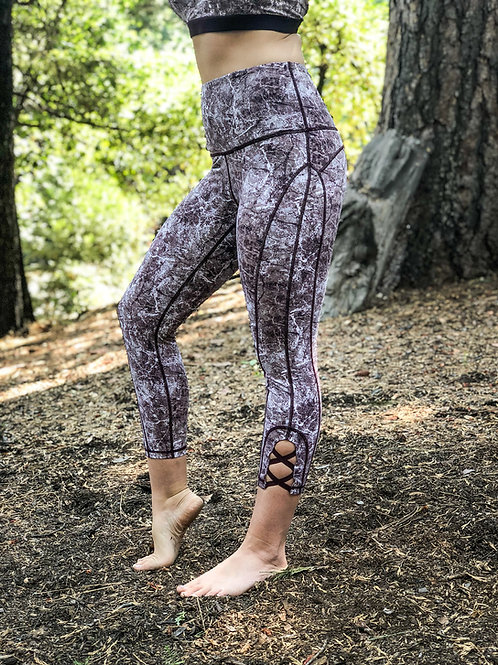 Magenta Soul Capris or Full Leggings