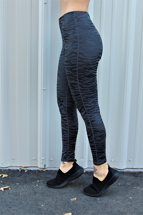 Black Tiger Full Leggings