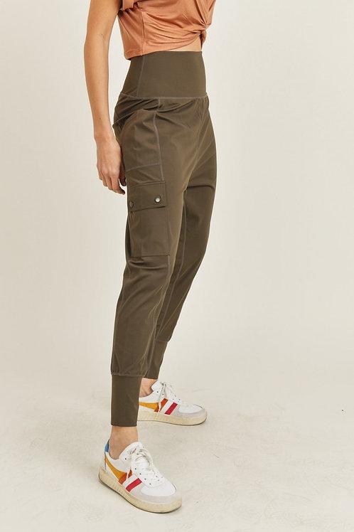 Drop Crotch Cargo Pants