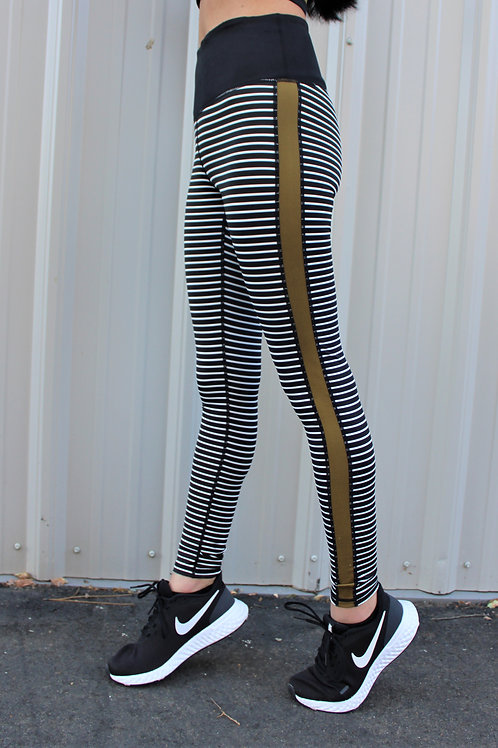 Gold Line Leggings