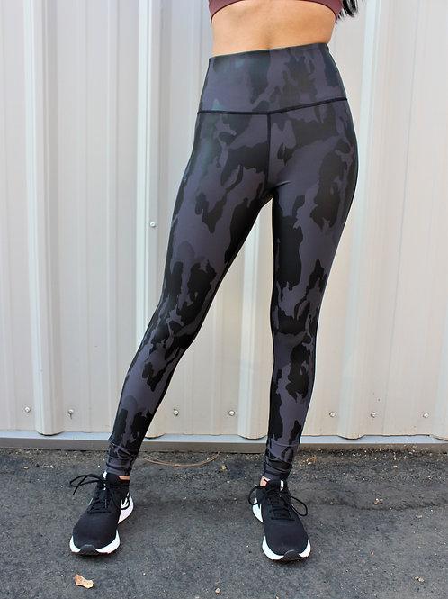 Black Camo Full Leggings