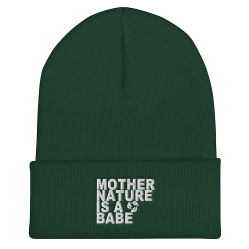 Cuffed Beanie - Mother Nature